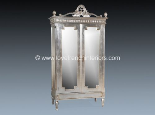 Alice Mirrored Armoire